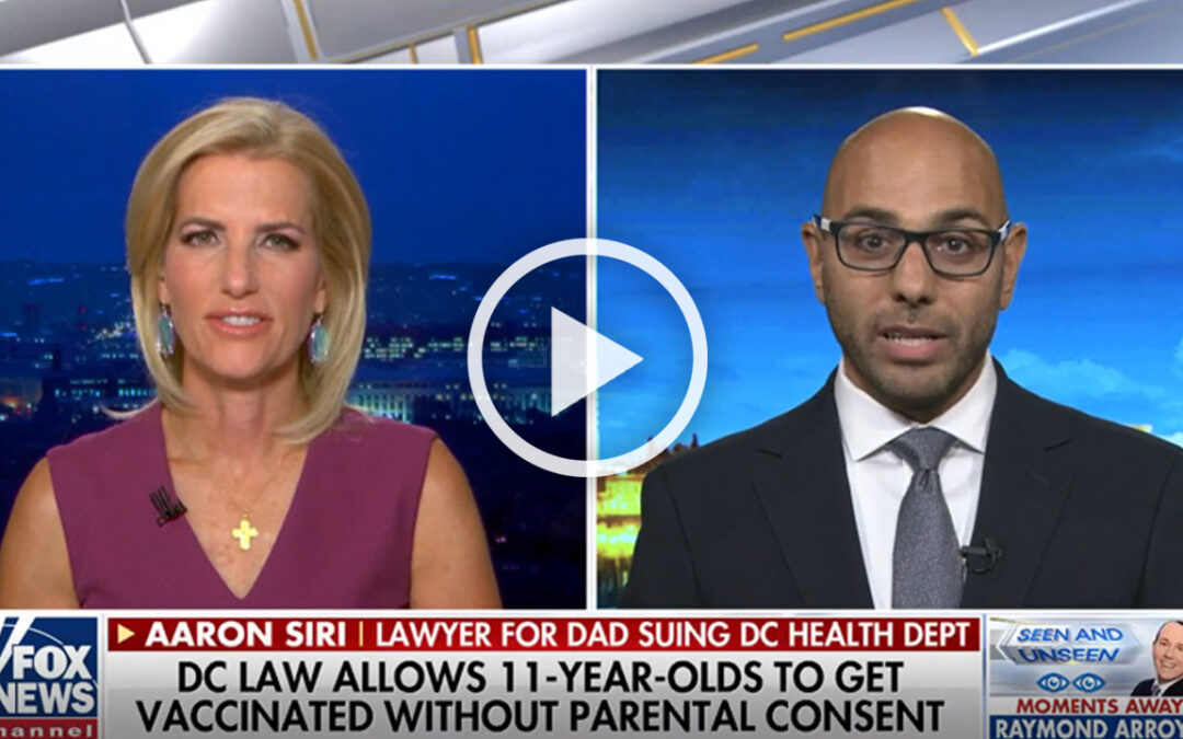 The Ingraham Angle  – Exposed – DC law allows 11-year-olds to get vaccinated without parental consent